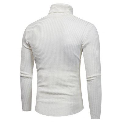 Male Classic Solid Color Turtleneck SweaterMens Sweaters &amp; Cardigans<br>Male Classic Solid Color Turtleneck Sweater<br><br>Package Contents: 1 x Sweater<br>Package size: 30.00 x 40.00 x 1.00 cm / 11.81 x 15.75 x 0.39 inches<br>Package weight: 0.4200 kg<br>Product weight: 0.4000 kg