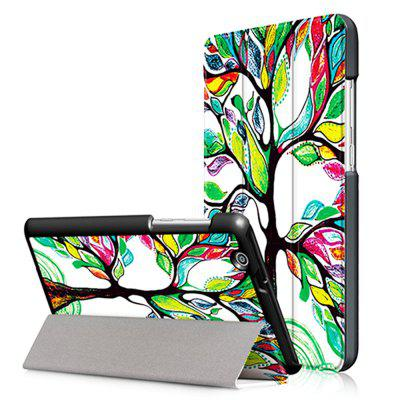 Tree Tri-folding Protective Case for Huawei MediaPad T3 7.0