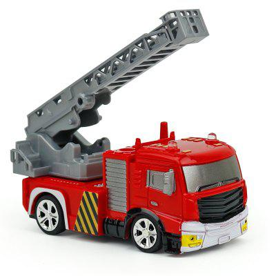 Creative ABS 1:58 Mini RC Fire Engine