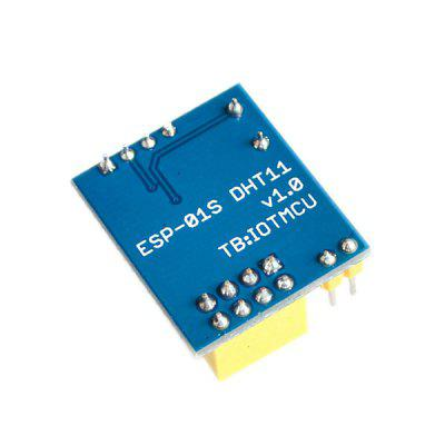 ESP8266 DHT11 Temperature and Humidity Wi-Fi Module esp8266 esp 01 esp 01s dht11 temperature humidity sensor module esp8266 wifi nodemcu smart home iot diy kit without esp module