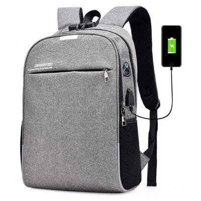 Gearbest Men Laptop Backpack