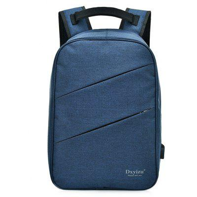 Men Trendy Canvas Laptop Backpack with USB PortBackpacks<br>Men Trendy Canvas Laptop Backpack with USB Port<br><br>Features: Wearable<br>For: Daily Use, Outdoor, Shopping<br>Gender: Men<br>Material: Canvas<br>Package Size(L x W x H): 31.00 x 3.00 x 43.00 cm / 12.2 x 1.18 x 16.93 inches<br>Package weight: 0.6800 kg<br>Packing List: 1 x Backpack<br>Product weight: 0.6600 kg<br>Style: Fashion, Casual<br>Type: Backpacks