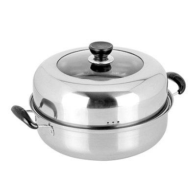 MCYH LG337 Stainless Steel Two-tier Steamer
