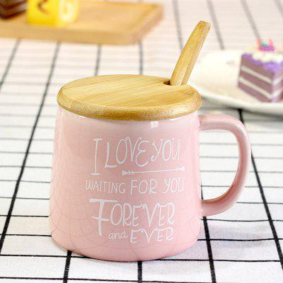 956 Creative Flamingo Words Ceramic Milk Coffee Cup 1PCWater Cup &amp; Bottle<br>956 Creative Flamingo Words Ceramic Milk Coffee Cup 1PC<br><br>Package Contents: 1 x Cup, 1 x Spoon, 1 x Lid<br>Package size (L x W x H): 14.00 x 13.00 x 11.00 cm / 5.51 x 5.12 x 4.33 inches<br>Package weight: 0.5000 kg<br>Product size (L x W x H): 12.50 x 9.00 x 8.20 cm / 4.92 x 3.54 x 3.23 inches<br>Product weight: 0.3000 kg<br>Style: Creative