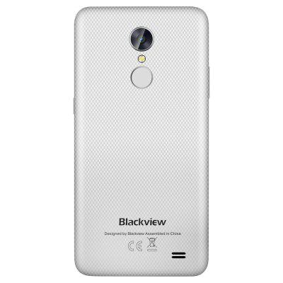 Blackview A10 3G SmartphoneCell phones<br>Blackview A10 3G Smartphone<br><br>2G: GSM 1800MHz,GSM 1900MHz,GSM 850MHz,GSM 900MHz<br>3G: WCDMA B1 2100MHz,WCDMA B8 900MHz<br>Additional Features: Bluetooth<br>Back camera: 8.0MP<br>Battery Capacity (mAh): 2800mAh<br>Battery Type: Lithium-ion Polymer Battery<br>Bluetooth Version: Bluetooth4.0<br>Brand: Blackview<br>Camera type: Dual cameras (one front one back)<br>Cell Phone: 1<br>Charger: 1<br>Cores: 1.3GHz<br>CPU: MTK6580A<br>Earphones: 1<br>English Manual: 1<br>External Memory: TF card up to 32GB (not included)<br>Front camera: 5MP<br>Google Play Store: Yes<br>GPU: Mali-400 MP<br>I/O Interface: 1 x Nano SIM Card Slot, 1 x Micro SIM Card Slot<br>Language: English, Russian, German, French, Spanish, Polish, Portuguese, Italian, Norwegian<br>Network type: GSM,WCDMA<br>OS: Android 7.0<br>Package size: 16.20 x 9.00 x 5.00 cm / 6.38 x 3.54 x 1.97 inches<br>Package weight: 0.3050 kg<br>Product size: 14.32 x 7.03 x 0.88 cm / 5.64 x 2.77 x 0.35 inches<br>Product weight: 0.1650 kg<br>RAM: 2GB RAM<br>ROM: 16GB<br>Screen Protector: 1<br>Screen resolution: 1024 x 600 (WSVGA)<br>Screen size: 5.0 inch<br>Screen type: IPS<br>Sensor: Gravity Sensor<br>Service Provider: Unlocked<br>SIM Card Slot: Dual SIM, Dual Standby<br>SIM Card Type: Nano SIM Card, Micro SIM Card<br>SIM Needle: 1<br>Type: 3G Smartphone<br>USB Cable: 1<br>Video format: MOV, 3GP, MP4, MKV<br>Video recording: Yes<br>WIFI: 802.11a/b/g/n wireless internet<br>Wireless Connectivity: Bluetooth 4.0
