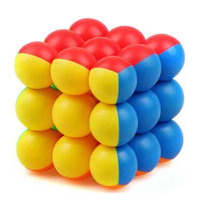 Ball Type Brain Trainer 3 x 3 x 3 Magic Cube