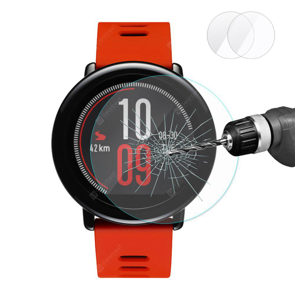 Gearbest 2.15D Arc Tempered Glass For Amazfit Pace 2pcs