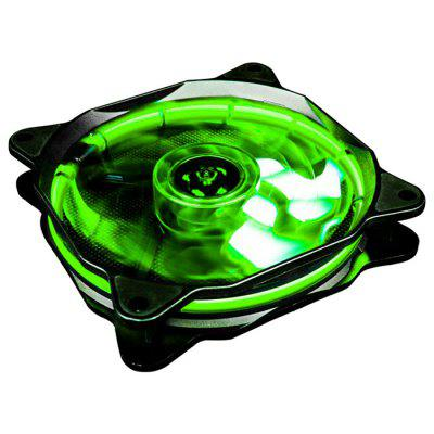 1STPLAYER Fire Ring 120mm 15 LEDs Silent Cooling Case Fan