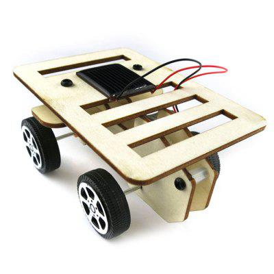 Creative DIY Wooden Small Car ToySolar Powered Toys<br>Creative DIY Wooden Small Car Toy<br><br>Completeness: Assembly Accessary,DIY Module<br>Material: Wood<br>Package Contents: 1 x Set of Car Toys<br>Package size: 11.00 x 8.00 x 1.00 cm / 4.33 x 3.15 x 0.39 inches<br>Package weight: 0.0700 kg<br>Product size: 10.00 x 7.00 x 5.00 cm / 3.94 x 2.76 x 1.97 inches<br>Product weight: 0.0540 kg<br>Type: Solar Powered Cars