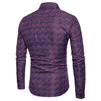 Simple Classic Long Sleeves ShirtMens Shirts<br>Simple Classic Long Sleeves Shirt<br><br>Closure Type: Button<br>Material: Cotton, Nylon, Polyester<br>Package Contents: 1 x Shirt<br>Package size: 30.00 x 35.00 x 1.00 cm / 11.81 x 13.78 x 0.39 inches<br>Package weight: 0.2200 kg<br>Product weight: 0.2000 kg<br>Thickness: Regular