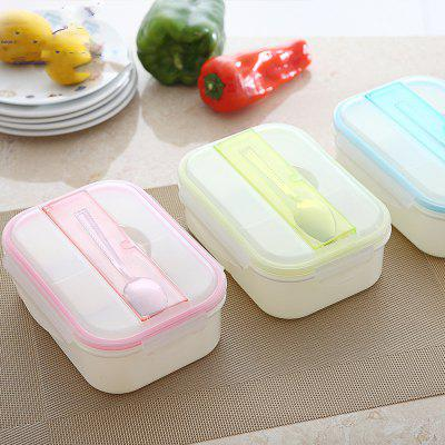 MCYH LG55 Food Container Lunch Bento Box with LidDinnerware<br>MCYH LG55 Food Container Lunch Bento Box with Lid<br><br>Brand: MCYH<br>Package Contents: 1 x Bento Box<br>Package size (L x W x H): 18.00 x 15.00 x 12.00 cm / 7.09 x 5.91 x 4.72 inches<br>Package weight: 0.3000 kg<br>Product size (L x W x H): 16.00 x 13.00 x 10.00 cm / 6.3 x 5.12 x 3.94 inches<br>Product weight: 0.2400 kg