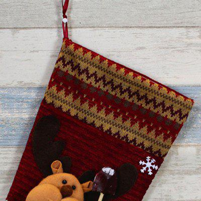 Фото MCYH HY177 Christmas Sock Style Gift Bag 1pc. Купить в РФ