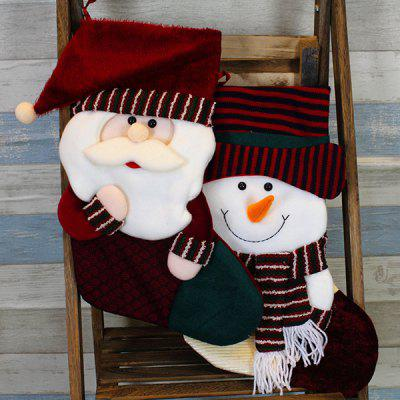 Фото MCYH HY176 Lovely Christmas Sock Decoration 1pc. Купить в РФ