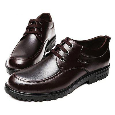 Men\s Classic Business Gentleman Casual Dress ShoesFormal Shoes<br>Men\s Classic Business Gentleman Casual Dress Shoes<br><br>Closure Type: Lace-Up<br>Contents: 1 x Pair of Shoes<br>Function: Slip Resistant<br>Lining Material: Microfiber<br>Materials: Microfiber Leather, Plastic, Microfiber<br>Occasion: Tea Party, Shopping, Office, Formal, Casual, Party, Daily, Dress<br>Outsole Material: Plastic<br>Package Size ( L x W x H ): 25.00 x 6.00 x 5.00 cm / 9.84 x 2.36 x 1.97 inches<br>Package weight: 1.3200 kg<br>Pattern Type: Solid<br>Product weight: 1.3000 kg<br>Seasons: Autumn,Spring<br>Style: Modern, Business, Casual, Comfortable, Fashion, Formal, Leisure<br>Toe Shape: Round Toe<br>Type: Casual Leather Shoes<br>Upper Material: Microfiber Leather