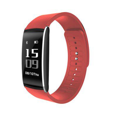 K8 Smart BraceletSmart Watches<br>K8 Smart Bracelet<br><br>Band material: Silicone<br>Battery  Capacity: 60mAh<br>Bluetooth calling: Phone call reminder<br>Bluetooth Version: Bluetooth 4.0<br>Case material: Metal<br>Compatability: Android 4.4 / iOS 8.0 and above systems<br>Compatible OS: Android, IOS<br>Find phone: Yes<br>Health tracker: Blood Pressure,Heart rate monitor,Pedometer,Sedentary reminder,Sleep monitor<br>Language: English,French,German,Korean,Polish,Russian,Simplified Chinese,Traditional Chinese<br>Messaging: Message reminder<br>Operating mode: Touch Key<br>Other Function: Alarm<br>Package Contents: 1 x Smart Bracelet, 1 x Charging Cable, 1 x User Manual, 1 x Box<br>Package size (L x W x H): 8.00 x 11.00 x 5.50 cm / 3.15 x 4.33 x 2.17 inches<br>Package weight: 0.1280 kg<br>People: Female table,Male table<br>Product size (L x W x H): 23.80 x 2.28 x 0.98 cm / 9.37 x 0.9 x 0.39 inches<br>Product weight: 0.0210 kg<br>Remote control function: Remote Camera<br>Shape of the dial: Rectangle<br>Standby time: About 5 - 10 days