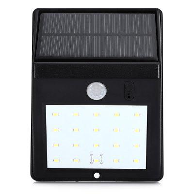 Utorch Outdoor Waterproof Solar Body Induction LightOutdoor Lights<br>Utorch Outdoor Waterproof Solar Body Induction Light<br><br>Brand: Utorch<br>Bulb Included: Yes<br>Features: Human Body Sensor, Rechargeable, Waterproof<br>IP rating: IP65<br>LED Quantity: 20<br>Lifetime ( h ): More Than  50000<br>Package Contents: 1 x Solar Energy Lamp, 2 x Expanded Column, 2 x Screw, 1 x Needle<br>Package size (L x W x H): 13.00 x 10.00 x 6.00 cm / 5.12 x 3.94 x 2.36 inches<br>Package weight: 0.2140 kg<br>Power Supply: Built-in Power Supply,Solar Powered<br>Primary Application: Garage,Outdoor Lighting<br>Product size (L x W x H): 12.50 x 9.50 x 5.00 cm / 4.92 x 3.74 x 1.97 inches<br>Product weight: 0.1770 kg<br>Shade Material: PC<br>Switch Type: Sensor<br>Type: LED Solar Lights<br>Voltage: 3.7V<br>Wattage: 0-5W