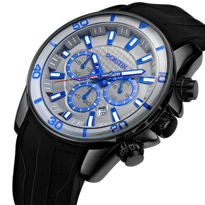 OCHSTIN Men\s Clearance Cool Silicone Band Quartz WatchMens Watches<br>OCHSTIN Men\s Clearance Cool Silicone Band Quartz Watch<br><br>Band material: Silicone<br>Brand: OCHSTIN<br>Case material: Alloy<br>Clasp type: Pin buckle<br>Display type: Analog<br>Movement type: Quartz watch<br>Package Contents: 1 x Watch, 1 x Box<br>Package size (L x W x H): 15.50 x 7.80 x 4.80 cm / 6.1 x 3.07 x 1.89 inches<br>Package weight: 0.1705 kg<br>Product size (L x W x H): 24.00 x 4.40 x 1.30 cm / 9.45 x 1.73 x 0.51 inches<br>Product weight: 0.0905 kg<br>Shape of the dial: Round<br>Special features: Date, Day<br>Watch mirror: Mineral glass<br>Watch style: Casual, Business, Fashion, Cool<br>Watches categories: Men