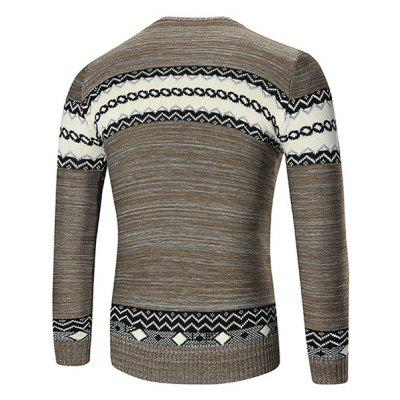 Fashion Vintage Knitting SweaterMens Sweaters &amp; Cardigans<br>Fashion Vintage Knitting Sweater<br><br>Material: Cotton, Cotton Blends<br>Package Contents: 1 x Sweater<br>Package size: 35.00 x 25.00 x 2.00 cm / 13.78 x 9.84 x 0.79 inches<br>Package weight: 0.5200 kg<br>Product weight: 0.5000 kg<br>Style: Casual<br>Thickness: Regular