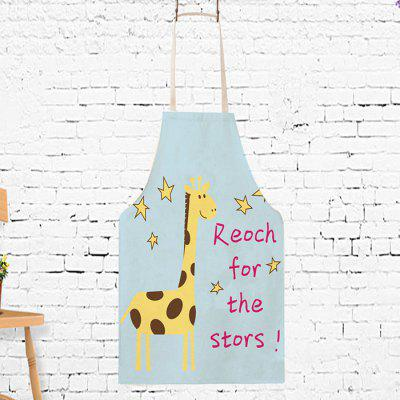Japanese Style Giraffe Letters Printed Parent-child ApronOther Kitchen Accessories<br>Japanese Style Giraffe Letters Printed Parent-child Apron<br><br>Material: Cotton Linen<br>Package Contents: 1 x Apron<br>Package size (L x W x H): 10.00 x 5.00 x 1.00 cm / 3.94 x 1.97 x 0.39 inches<br>Package weight: 0.1700 kg<br>Product weight: 0.1500 kg<br>Type: Other Kitchen Accessories