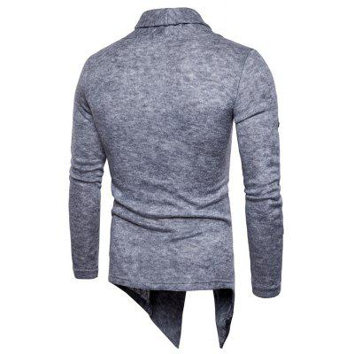 Fake Two Piece Knitting SweaterMens Sweaters &amp; Cardigans<br>Fake Two Piece Knitting Sweater<br><br>Material: Cotton, Polyester<br>Occasion: Casual<br>Package Contents: 1 x Knitting Sweater<br>Package size: 30.00 x 35.00 x 1.00 cm / 11.81 x 13.78 x 0.39 inches<br>Package weight: 0.4700 kg<br>Pattern: Solid Color<br>Product weight: 0.4500 kg<br>Style: Casual<br>Thickness: Regular