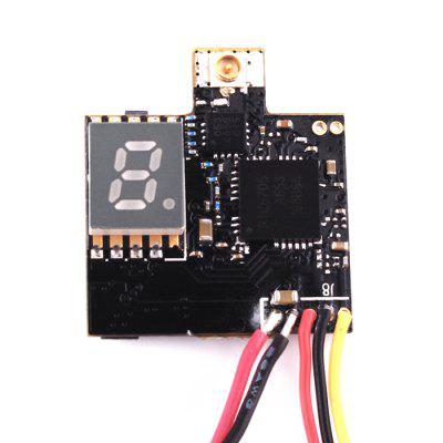 FuriBee VTX03 Super Mini 5.8G 72CH FPV TransmitterReceiver &amp; Transmitter<br>FuriBee VTX03 Super Mini 5.8G 72CH FPV Transmitter<br><br>Brand: FuriBee<br>FPV Equipments: 5.8G FPV Video Equipment<br>Functions: Video<br>Package Contents: 1 x FPV Transmitter, 1 x IPEX Antenna<br>Package size (L x W x H): 6.00 x 5.00 x 5.00 cm / 2.36 x 1.97 x 1.97 inches<br>Package weight: 0.0100 kg<br>Product size (L x W x H): 2.10 x 1.52 x 0.80 cm / 0.83 x 0.6 x 0.31 inches<br>Product weight: 0.0030 kg