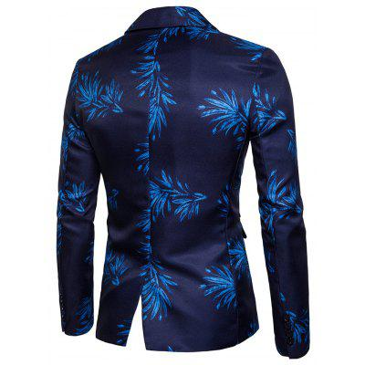 Fashion Printing One Button Blazer JacketMens Blazers<br>Fashion Printing One Button Blazer Jacket<br><br>Closure Type: Button<br>Material: Cotton, Nylon, Polyester<br>Package Contents: 1 x Blazer Jacket<br>Package size: 30.00 x 35.00 x 1.00 cm / 11.81 x 13.78 x 0.39 inches<br>Package weight: 0.4400 kg<br>Product weight: 0.4200 kg<br>Thickness: Regular