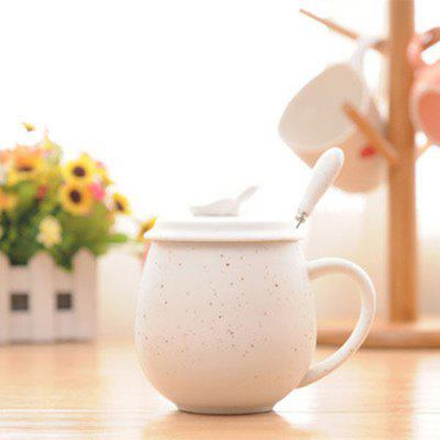 MCYH LG353 Creative Pattern Ceramics Cup with SpoonWater Cup &amp; Bottle<br>MCYH LG353 Creative Pattern Ceramics Cup with Spoon<br><br>Brand: MCYH<br>Material: Ceramics<br>Package Contents: 1 x Cup<br>Package size (L x W x H): 11.00 x 10.00 x 11.00 cm / 4.33 x 3.94 x 4.33 inches<br>Package weight: 0.5000 kg<br>Product size (L x W x H): 8.70 x 7.80 x 8.70 cm / 3.43 x 3.07 x 3.43 inches<br>Product weight: 0.3000 kg<br>Style: Fashion, Casual<br>Suitable for: Home, Party<br>Type: Water, Tea, Milk, Fruit Juice, Coffee