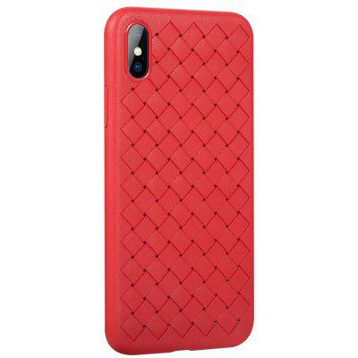 Benks Lange Series Braid Cooling Case for iPhone XiPhone Cases/Covers<br>Benks Lange Series Braid Cooling Case for iPhone X<br><br>Brand: Benks<br>Compatible for Apple: iPhone X<br>Features: Anti-knock, Back Cover, Button Protector<br>Material: TPU<br>Package Contents: 1 x Mobile Phone Case<br>Package size (L x W x H): 22.00 x 11.80 x 2.50 cm / 8.66 x 4.65 x 0.98 inches<br>Package weight: 0.0500 kg<br>Product size (L x W x H): 16.00 x 8.00 x 1.20 cm / 6.3 x 3.15 x 0.47 inches<br>Product weight: 0.0180 kg<br>Style: Modern, Grid Pattern, Ultra Slim, Woven, Solid Color