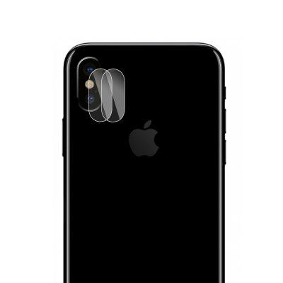 Hat - Prince Lens Protection Tempered Glass for iPhone X 2pcs
