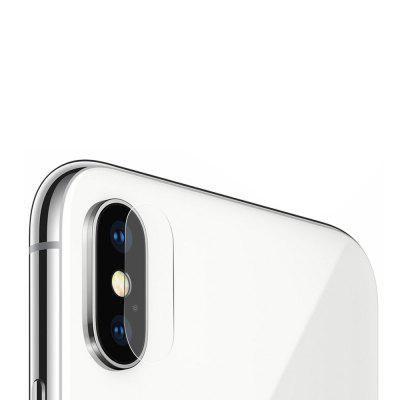 Hat - Prince Lens Protection Tempered Glass for iPhone XIPhone Screen Protectors<br>Hat - Prince Lens Protection Tempered Glass for iPhone X<br><br>Brand: Hat-Prince<br>Features: High-definition, Anti-oil, Anti scratch, Anti fingerprint<br>For: Cell Phone<br>Mainly Compatible with: iPhone X<br>Material: Tempered Glass<br>Package Contents: 1 x Tempered Glass, 1 x Dust Absorber, 1 x Cleaning Cloth, 1 x Alcohol Pad<br>Package size (L x W x H): 16.50 x 10.00 x 1.10 cm / 6.5 x 3.94 x 0.43 inches<br>Package weight: 0.0180 kg<br>Product weight: 0.0010 kg<br>Surface Hardness: 9H<br>Thickness: 0.2mm<br>Type: Protective Film