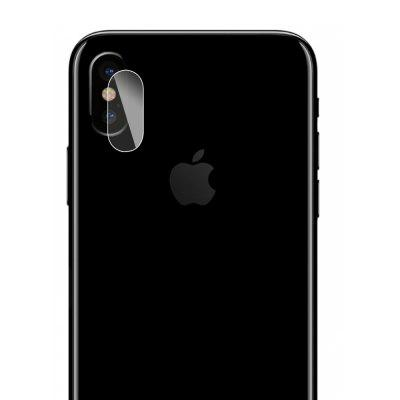 Hat - Prince Lens Protection Tempered Glass for iPhone X