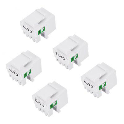 RJ11 Telephone Plug Connector for DIY 5PCS