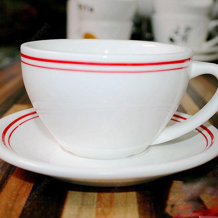 MCYH Red Striped Coffee Cup