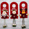 MCYH HY178 Christmas Interior Door Lock Decoration 1PC - COLORMIX