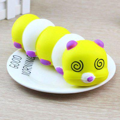 Cute Caterpillar Style Slow Rising Squishy Toy