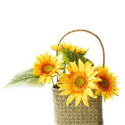 LmDec Home Party Decoration Girasoles Artificiales