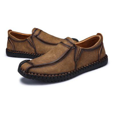 Men's Vintage Soft Stitching Casual Flat Loafer