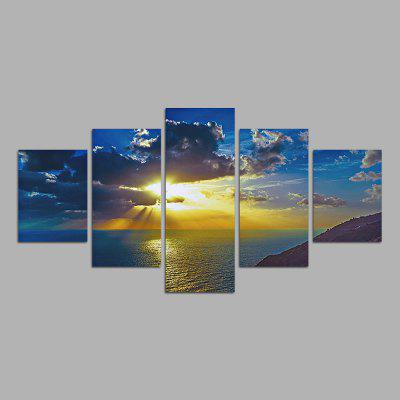 Modern Canvas Prints Landscape Hanging Wall Art 5PCS