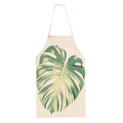 Durable Leaf Pattern Printed Apron
