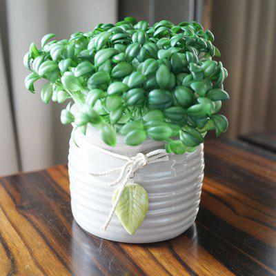 LmDec Home Party Decoration Artificial Bean Seedling