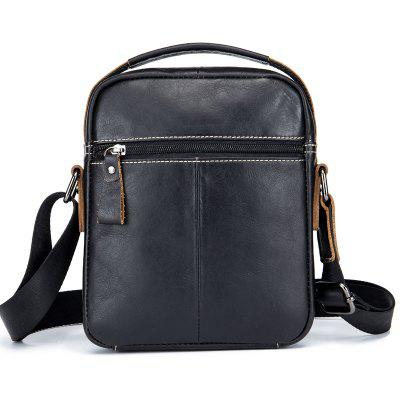 BULLCAPTAIN Men Genuine Leather Shoulder BagCrossbody Bags<br>BULLCAPTAIN Men Genuine Leather Shoulder Bag<br><br>Brand: BULLCAPTAIN<br>Features: Wearable<br>For: Daily Use<br>Gender: Men<br>Material: Leather<br>Package Size(L x W x H): 20.00 x 5.00 x 24.00 cm / 7.87 x 1.97 x 9.45 inches<br>Package weight: 0.4200 kg<br>Packing List: 1 x Shoulder Bag<br>Product weight: 0.4000 kg<br>Style: Fashion, Casual<br>Type: Shoulder bag