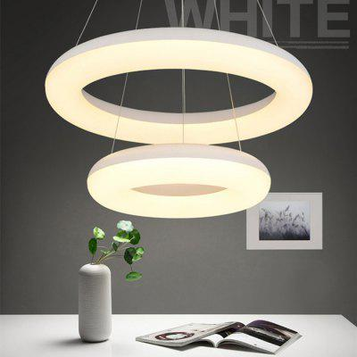 BRELONG Two Round Pendant Light Diameter 40cm / 60cm