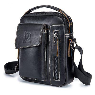 BULLCAPTAIN Men Genuine Leather Shoulder Bag в магазине GearBest