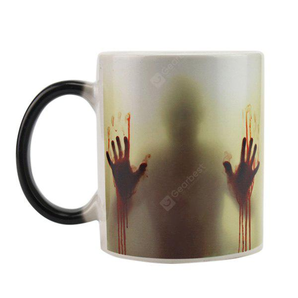 Thermal Reaction Ceramic Color Changing Cup 1pc