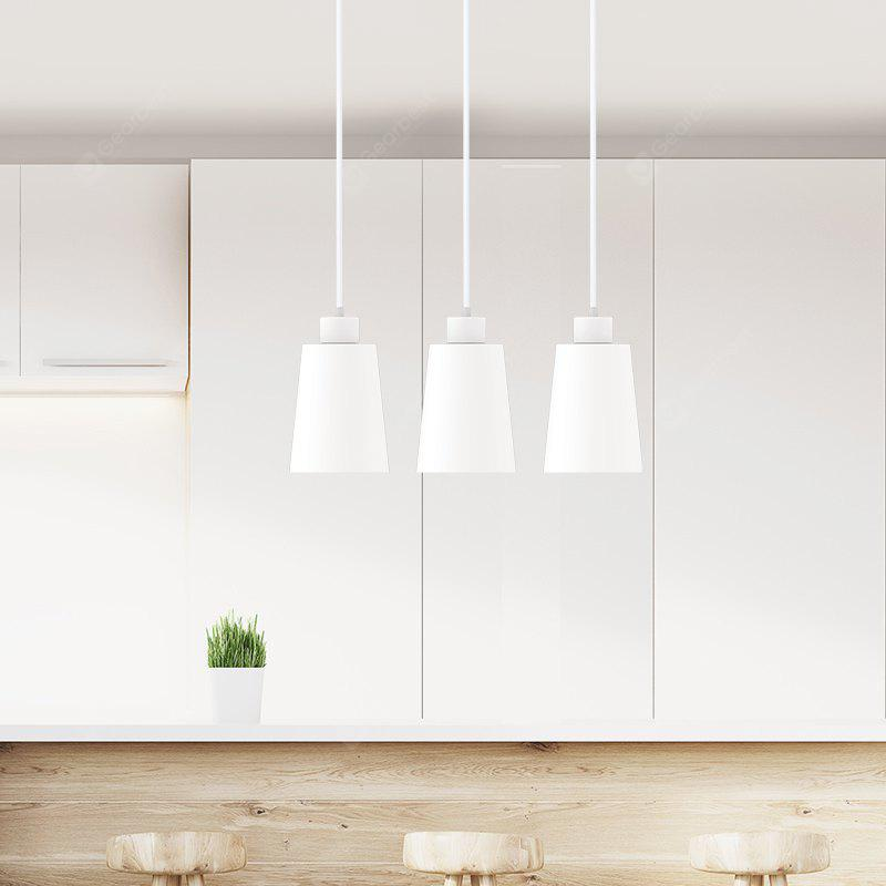 Yeelight JIAOYUE Minimalist Iron E27 Pendant Light 200 - 220V - WHITE