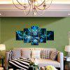 God Painting Unframed Devil Pattern Print for Decoration 5pcs - COLORMIX