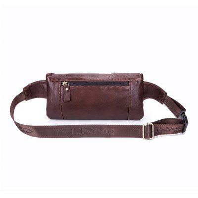 BULLCAPTAIN Retro Leather Cellphone Waist BagWaist Packs<br>BULLCAPTAIN Retro Leather Cellphone Waist Bag<br><br>Brand: BULLCAPTAIN<br>Closure Type: Zip<br>Features: Wearable<br>For: Shopping, Outdoor, Daily Use<br>Gender: Unisex<br>Material: Leather<br>Package Size(L x W x H): 27.00 x 6.00 x 16.00 cm / 10.63 x 2.36 x 6.3 inches<br>Package weight: 0.4200 kg<br>Packing List: 1 x Waist Bag<br>Product Size(L x W x H): 25.00 x 5.00 x 14.00 cm / 9.84 x 1.97 x 5.51 inches<br>Product weight: 0.4000 kg<br>Style: Fashion, Casual<br>Type: Waist Bag