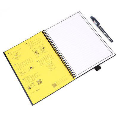 ELFIN BookNotebooks &amp; Pads<br>ELFIN Book<br><br>Color: Black,Gray<br>Features: Rewritable<br>Material: Others<br>Package Contents: 1 x ELFIN Book, 1 x Pen, 1 x Chinese User Manual<br>Package size (L x W x H): 20.00 x 28.00 x 3.00 cm / 7.87 x 11.02 x 1.18 inches<br>Package weight: 0.3700 kg<br>Product size (L x W x H): 17.60 x 25.00 x 1.00 cm / 6.93 x 9.84 x 0.39 inches<br>Product weight: 0.2690 kg