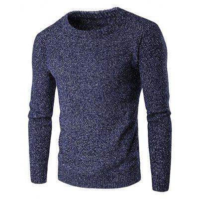 Thickened Thermal Round Collar Sweater