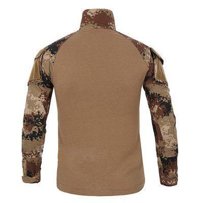 Men\'s Skin-loving Tactic Camouflage Breathable T-shirt